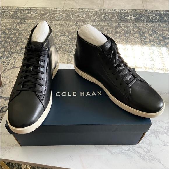 cole haan crosscourt high top